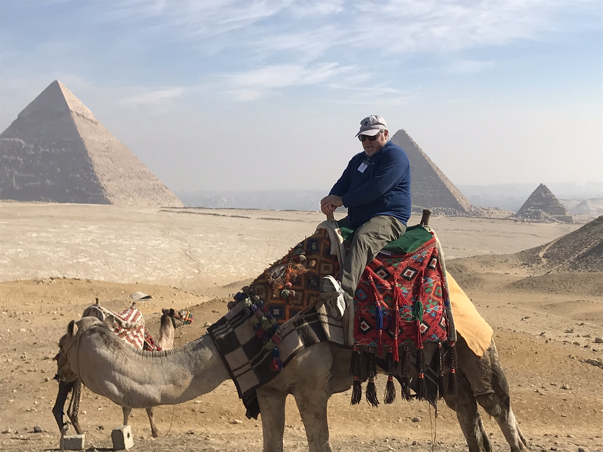 Camal Rides at the Great Pyramid