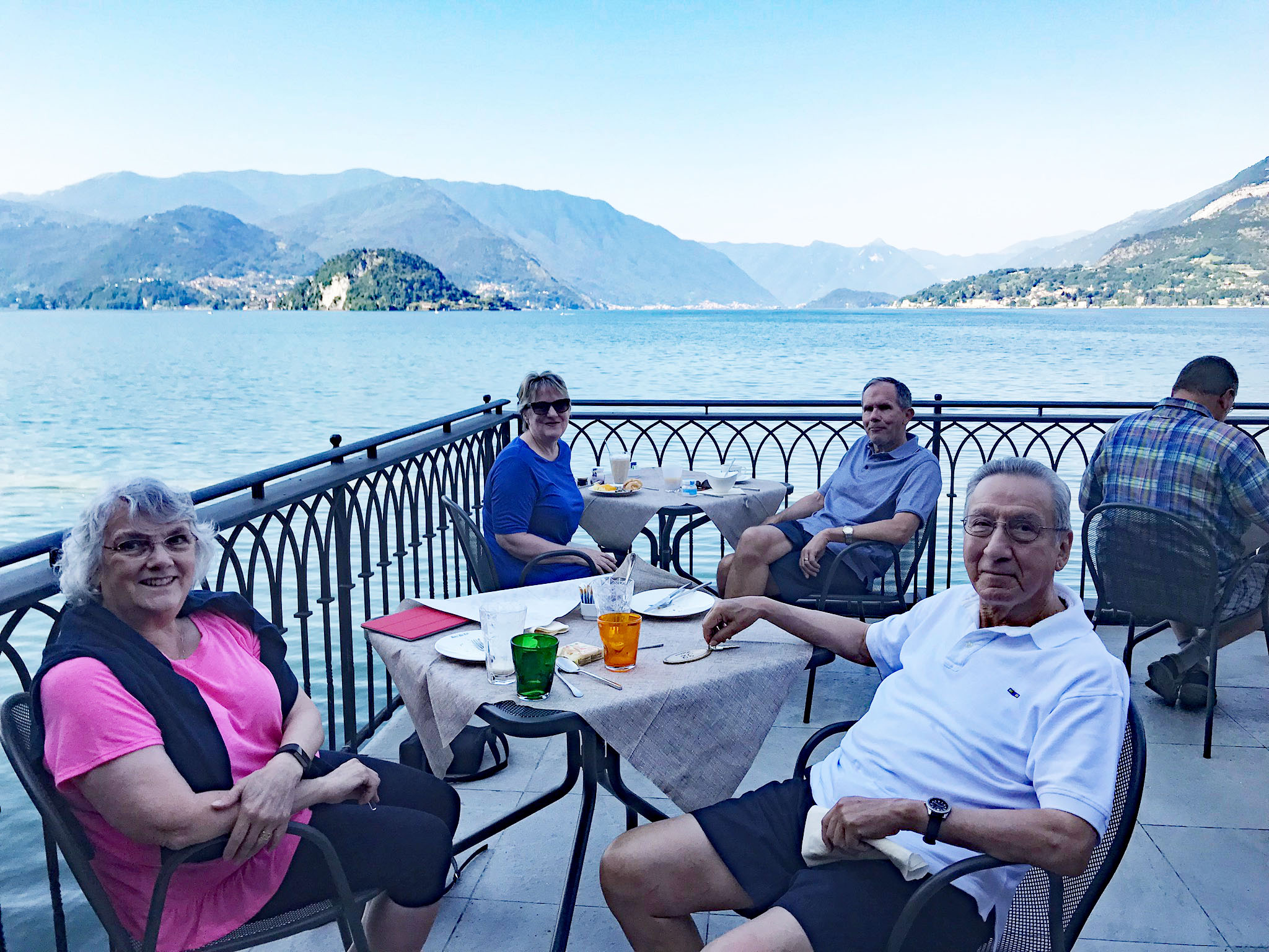 Breakfast on Lake Como