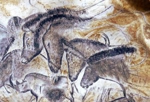 Horses of Chavet Cave