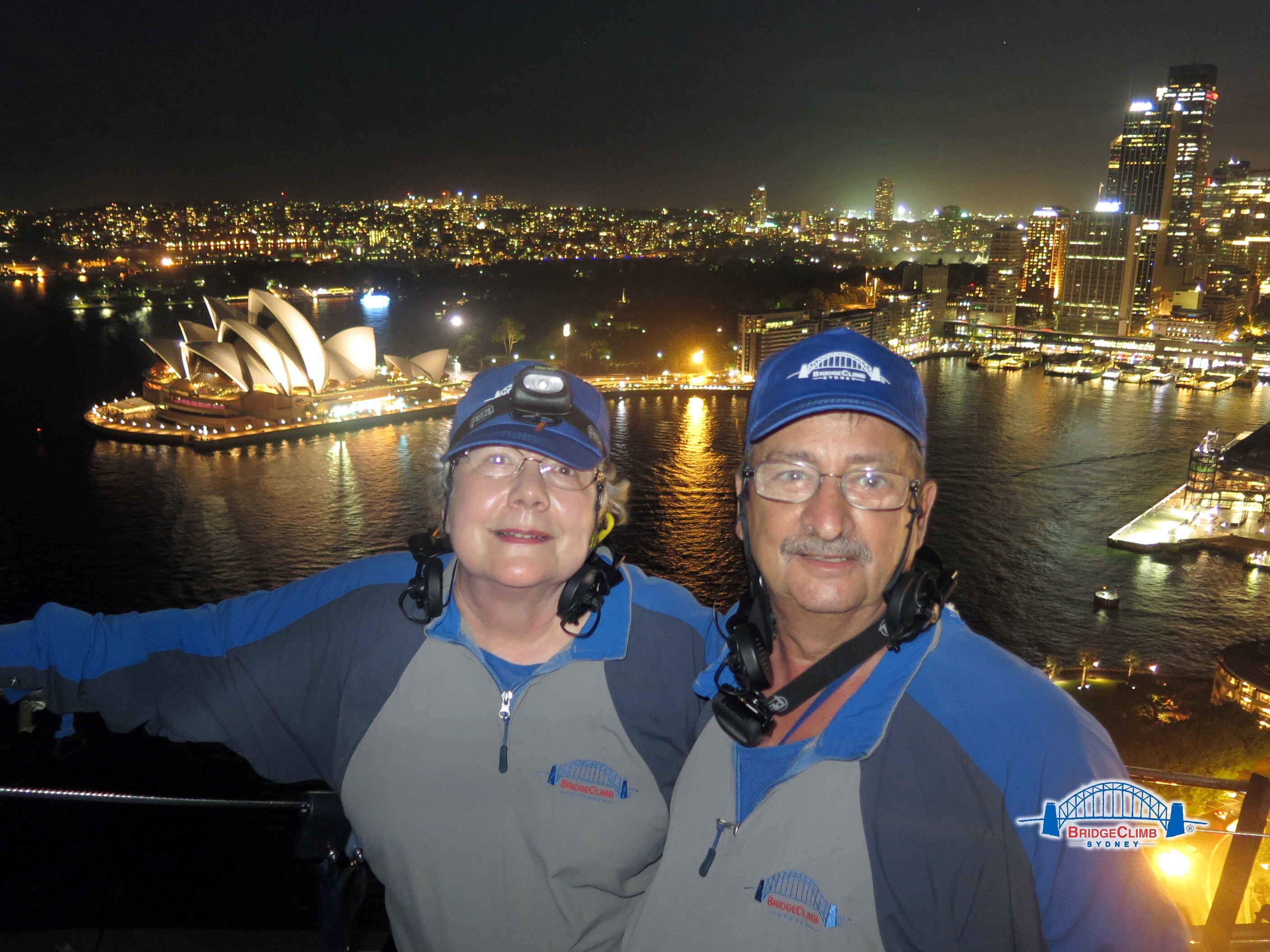 On Top of the Sydney Harbour Bridge