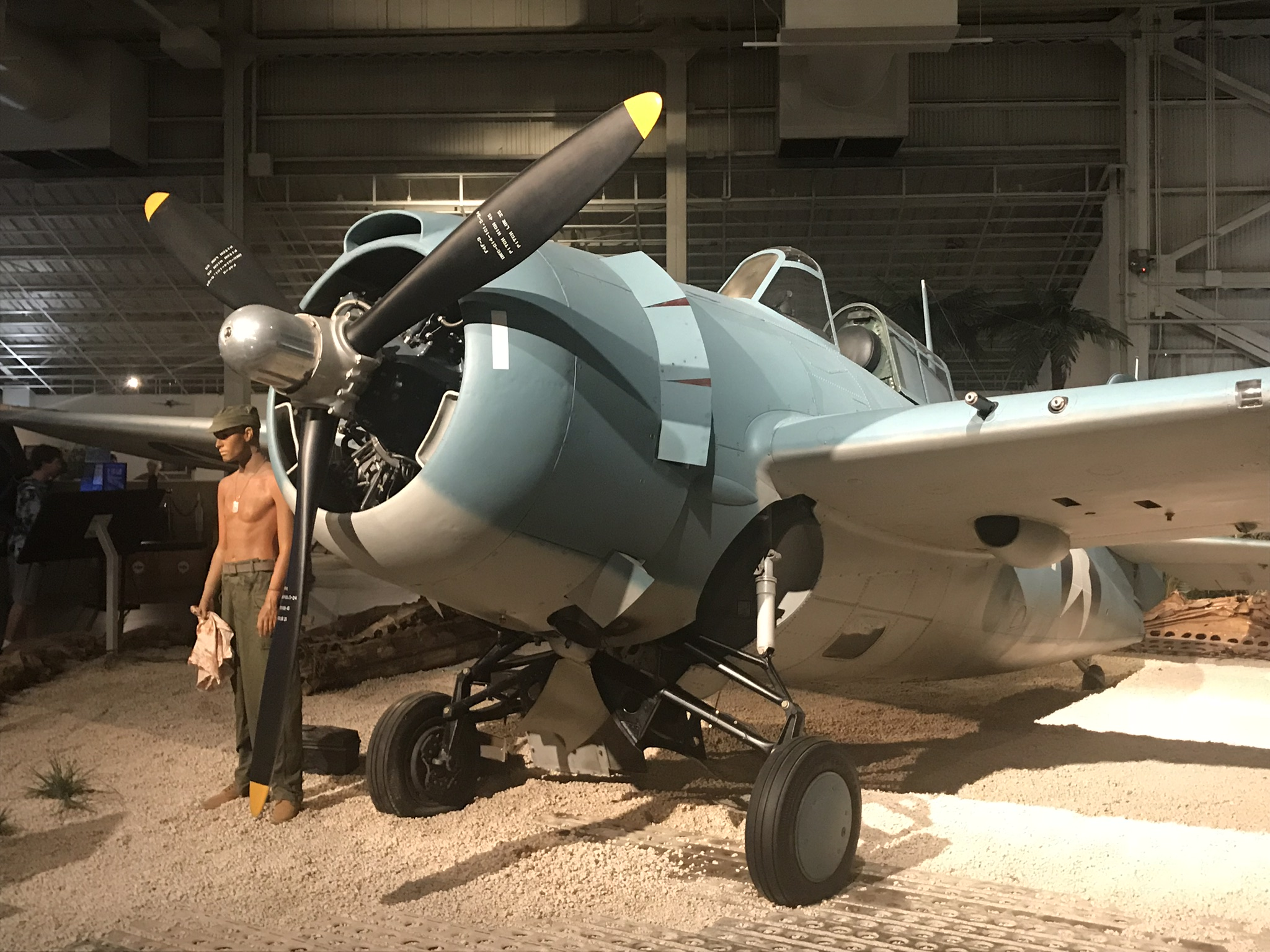 Wildcat at the Pearl Harbor Aviation Museum
