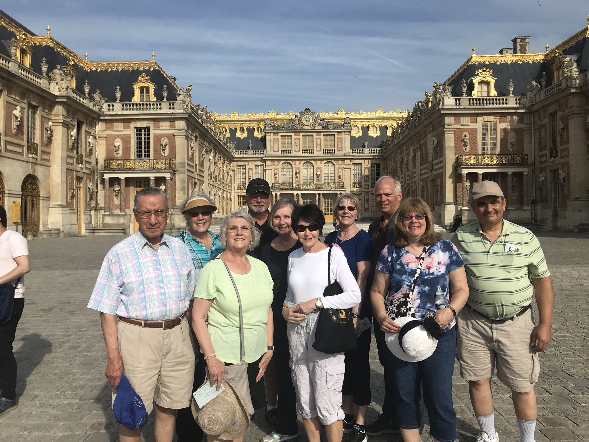 Bucketeers at Versailles