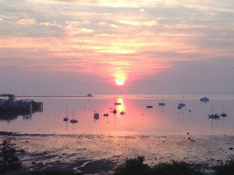 Sunrise on Penobscot Bay