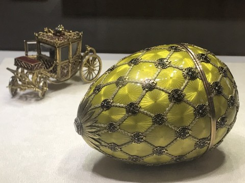 Faberge Eggs of St Petersburg, Russia