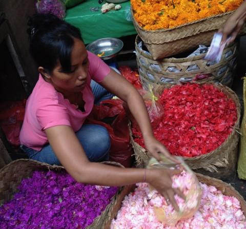 Bali Flower Market