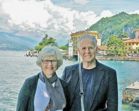 Jon & Sherry On Lake Como
