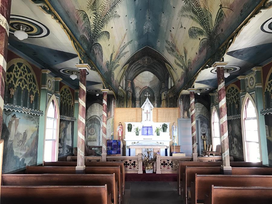 St Benedict's Hawaiian Painted Church