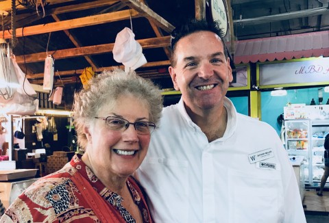 Ashore with the Chef Jeff of the Windstar Star Legend