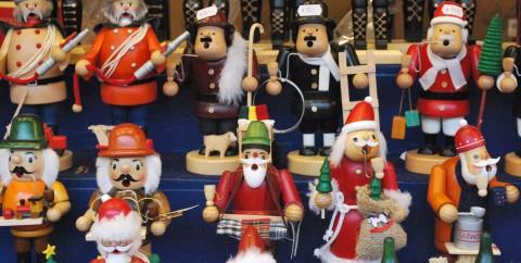Smokers at Nuremberg Christmas Market